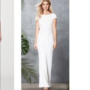 Dress the population Teresa body-con dress white